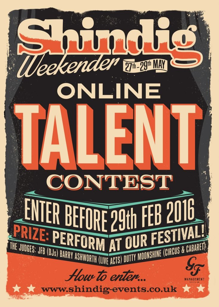 Talent Contest Poster